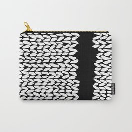 Missing Knit On Side Carry-All Pouch