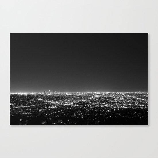 LA Lights Canvas Print