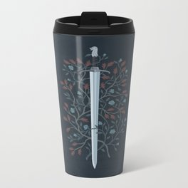 Fire and Ice Metal Travel Mug