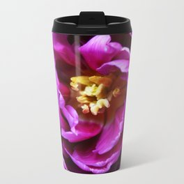 Double Tulip Metal Travel Mug