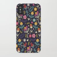 yetiland iPhone & iPod Cases featuring Ditsy Flowers by Poppy & Red