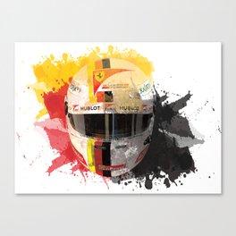 Sebastian Vettel #5 - 2017 Canvas Print