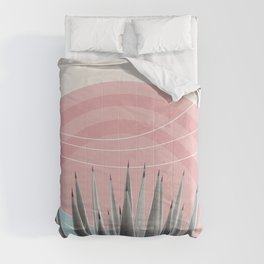 Agave in the Desert Oasis #4 #tropical #wall #art #society6 Comforters