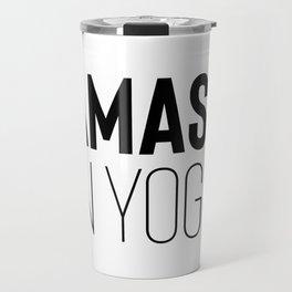 Namaste in Yoga Travel Mug