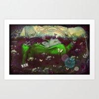 The Gardens (Web)  Art Print
