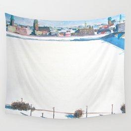 Frozen Rīga II Wall Tapestry