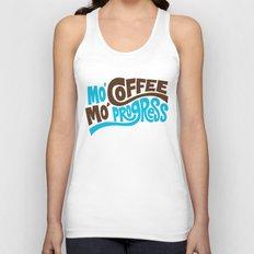 Mo' Coffee Mo' Progress Unisex Tank Top