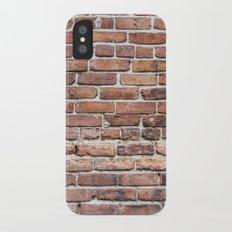 Brick Wall Slim Case iPhone X