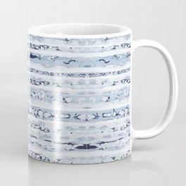 Boho Stripes Indigo Blue Coffee Mug