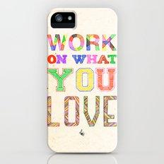 Life & Love Slim Case iPhone (5, 5s)