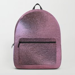 beautiful pink foil Backpack