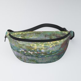 Claude Monet Pond of Water Lilies Fanny Pack