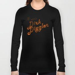 The Name's Dirk Diggler Long Sleeve T-shirt