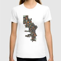 milwaukee T-shirts featuring Milwaukee by BigRedSharks