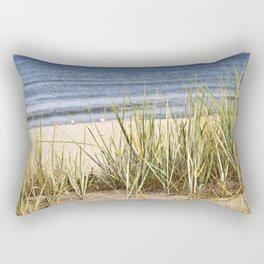Sanddune - Seagrass - Baltic Sea - Island Ruegen Rectangular Pillow