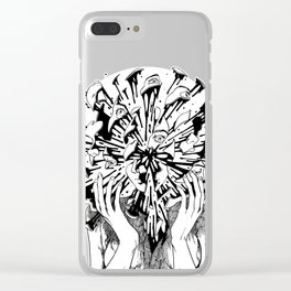 Burst Clear iPhone Case