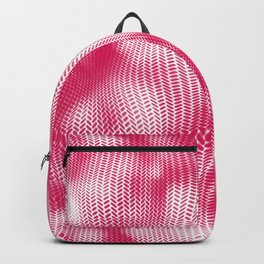 Pink abstract pattern Backpack
