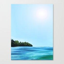 The Happy Isle Canvas Print
