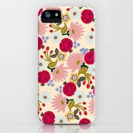 Hamptons Summer Garden iPhone Case