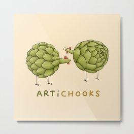 Artichooks Metal Print