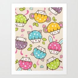 mushis Art Print