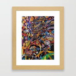The Coming of the Sun Framed Art Print