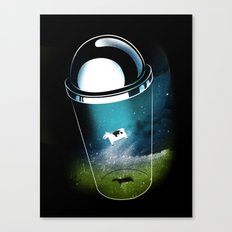Encounters of the Dairy Kind Canvas Print