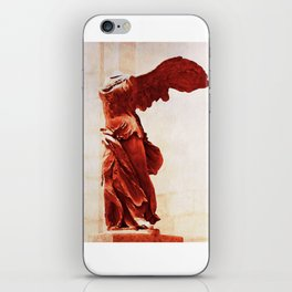Winged Victory In The Louvre iPhone Skin