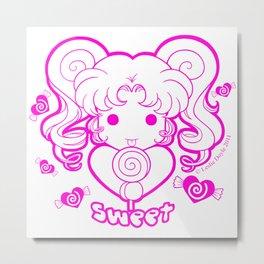 Kawaii Kiddies Cute Sweet Metal Print