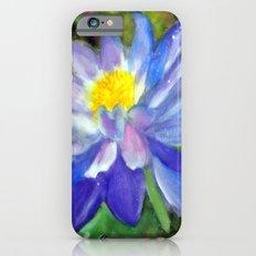 Blue Violet Lotus flower Slim Case iPhone 6s