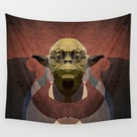 yoda Wall Tapestries featuring Yoda by lazylaves