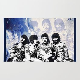 John-Paul-George-Ringo Blues Rug