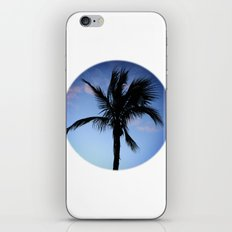 Palm at Sunset iPhone & iPod Skin