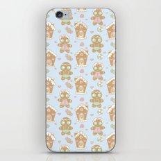 Gingerbread Sweethearts iPhone & iPod Skin