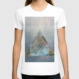 Perseid - Contemporary Geometric Pyramid T-shirt