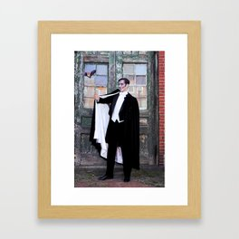 Rein It In - Count Batt Framed Art Print
