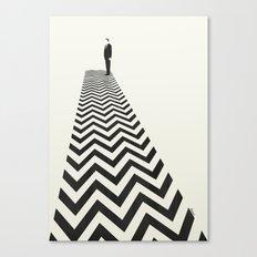 Twin Peaks Minimalist Poster Canvas Print