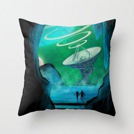 Expansion Volume IV Poster Throw Pillow