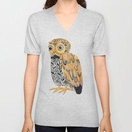 Harvest Owl Unisex V-Neck