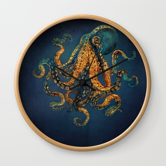 Underwater Dream IV Wall Clock