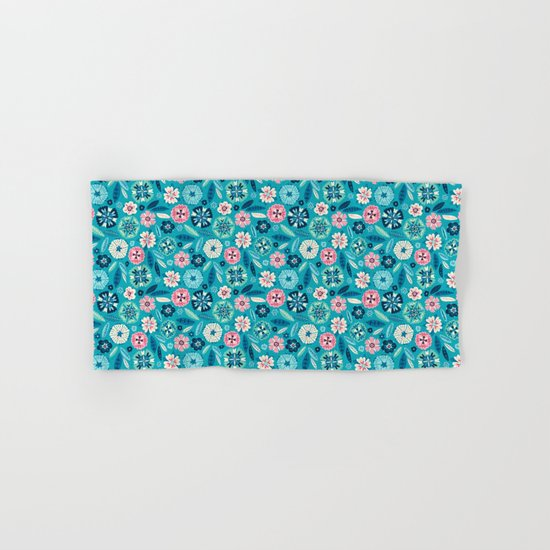 Flower Pop Hand & Bath Towel