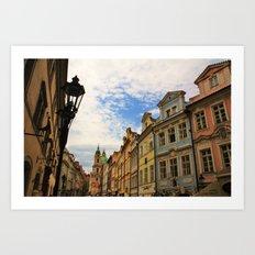 Praha Art Print