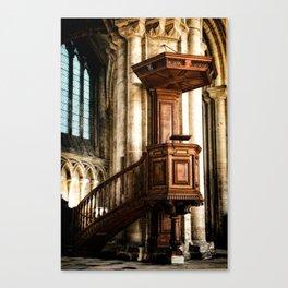 The Pulpit Canvas Print