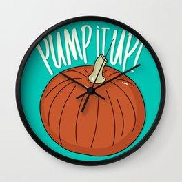 Pump(kin) It Up! Wall Clock