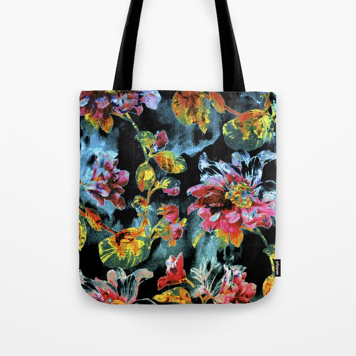 double floral Tote Bag