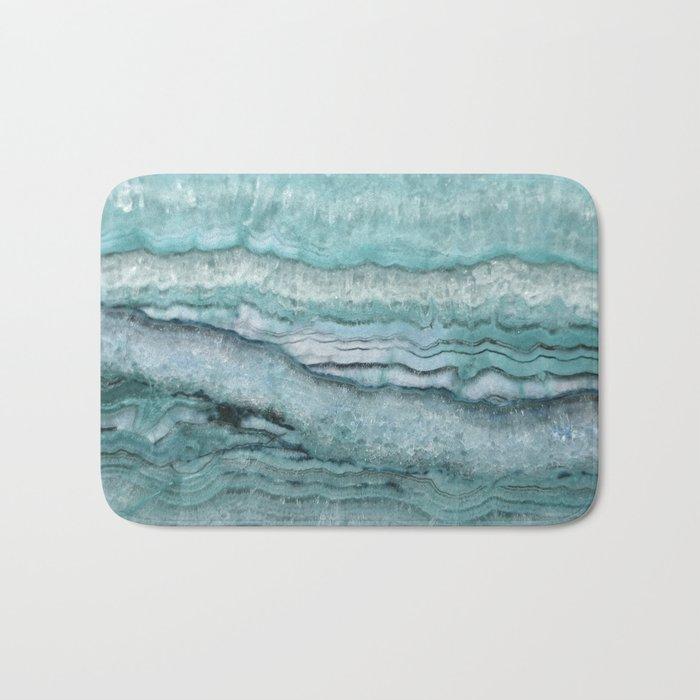 Mystic Stone Aqua Teal Badematte