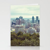 montreal Stationery Cards featuring Montreal by GF Fine Art Photography