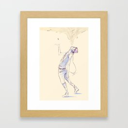 Thankyou, F*** You Framed Art Print