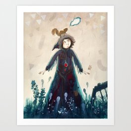 Declaration of winter Art Print