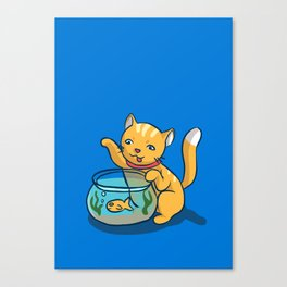 Mischief Canvas Print